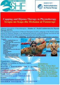 Trajnim: Terapia Me Kupa Dhe Hixhama Në Fizioterapi